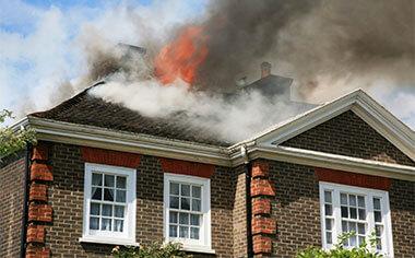 fire damage in Charlottesville, VA
