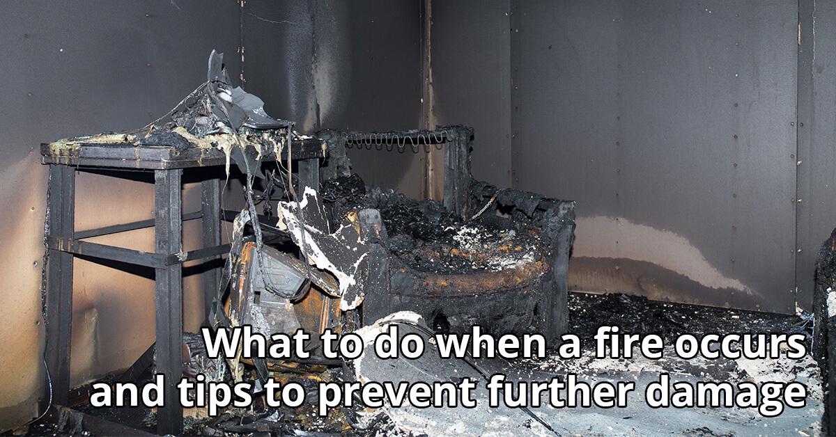 Fire Damage Repair Tips in Navarre, FL