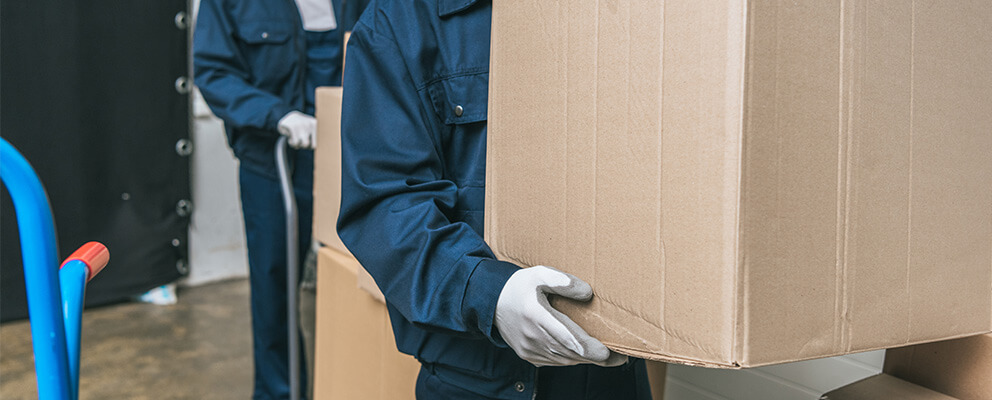 Content Cleaning, Packout and Storage in Boston, MA