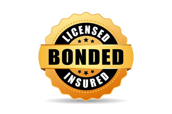 Licensed, Bonded & Insured
