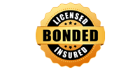 Licensed, Bonded & Insured