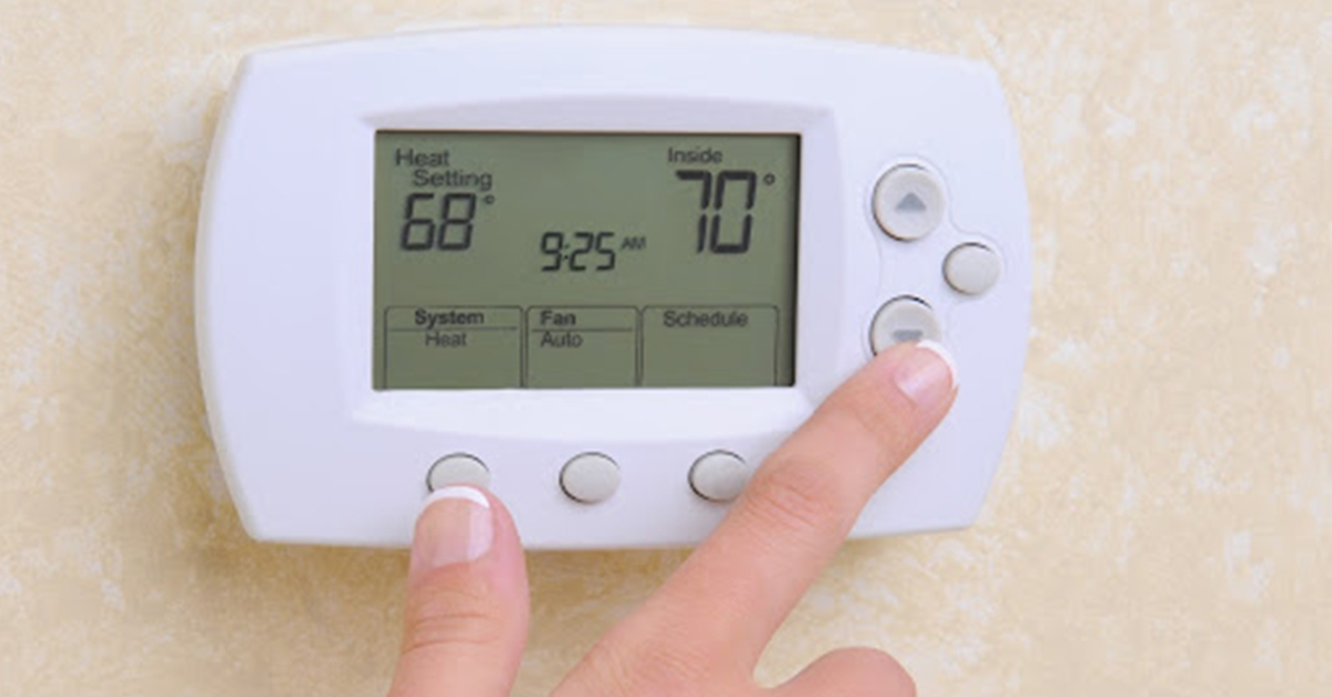 Is it cheaper to let the heat run all the time?