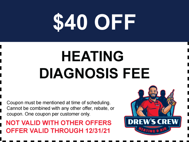 $40 Off Heating Diagnosis Fee