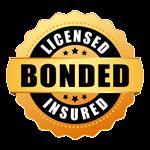Licensed, Bonded & Insured Badge