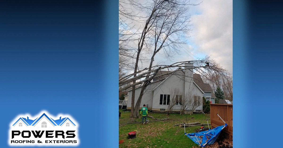 Roofing and Siding Damage Types
