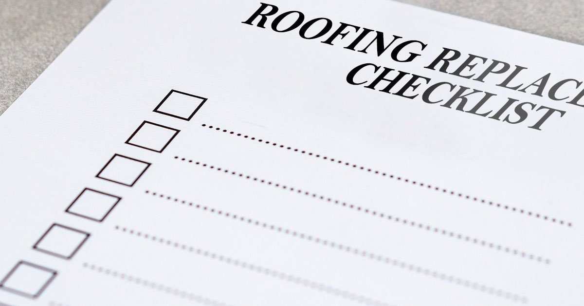 Planning For A New Roof