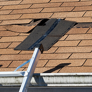 Wind Damage Roof Repair in Mentor, OH