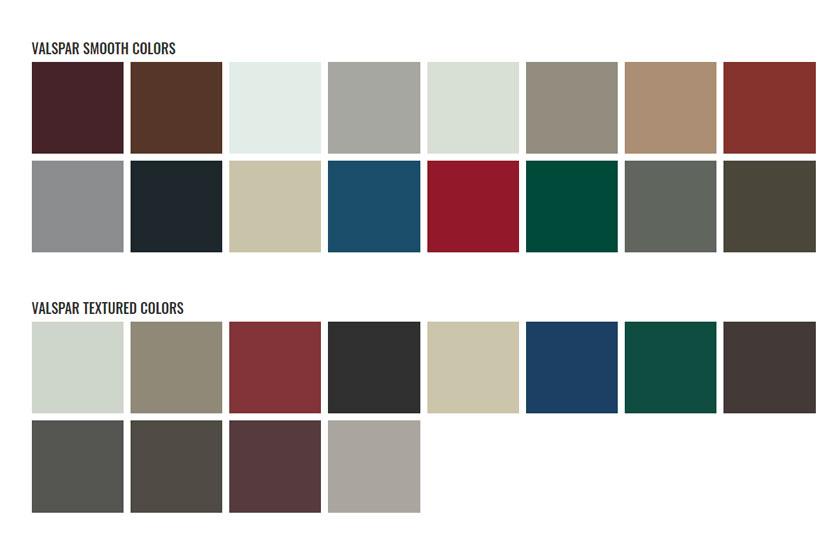 Elite Rib Metal Roof Colors