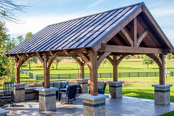Martin Contracting, LLC provides Standing Seam Metal Roofing in West Pennsylvania
