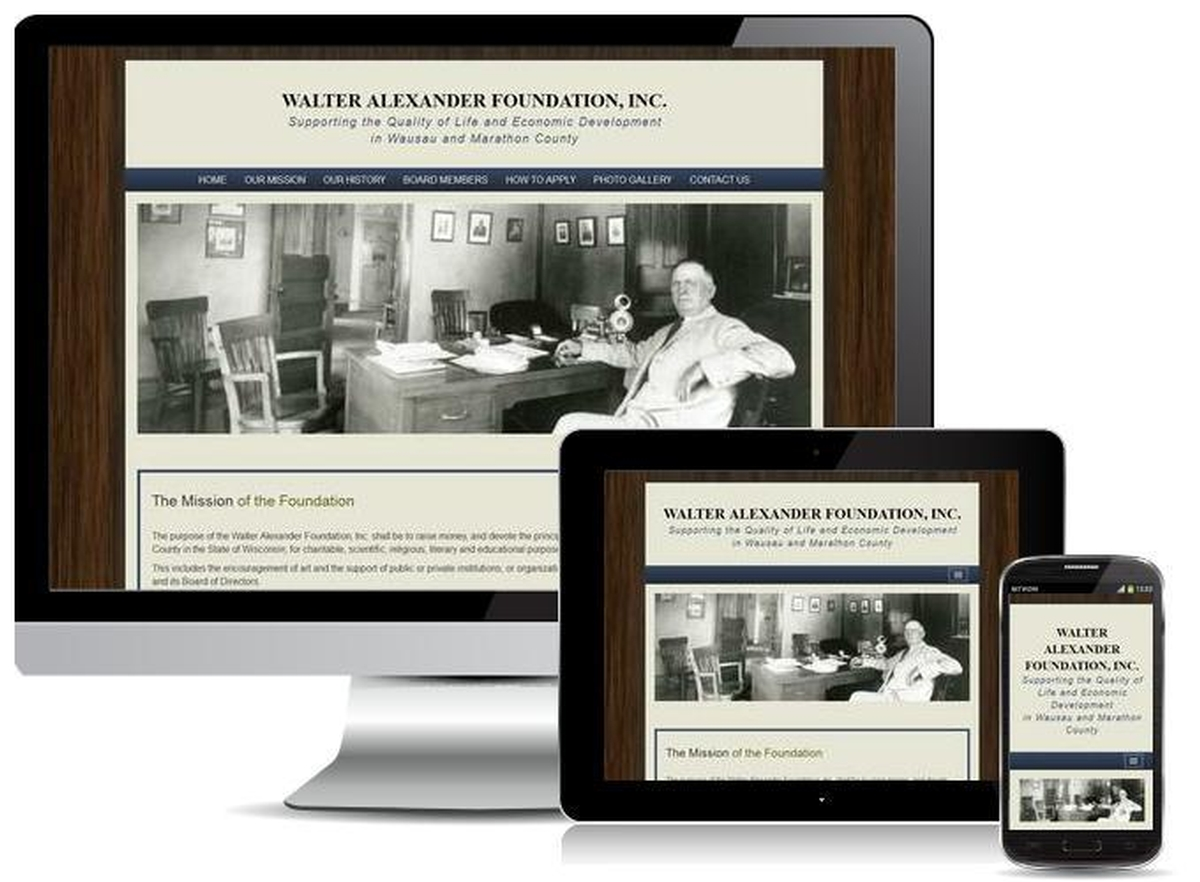 Virtual Vision recently launched a website for the Walter Alexander Foundation, Inc.