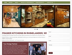 Virtual Vision Computing - Wausau WI re-launches updated Website for Frasier Kitchens of Rhinelander WI