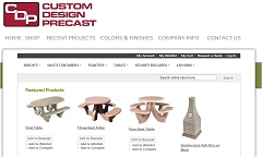 Virtual Vision Computing - Wausau WI launches new Website for Custom Design Precast