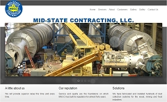 Virtual Vision Computing - Wausau WI launches new Website for Mid State Contracting