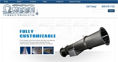 Virtual Vision Computing - Wausau WI launches new Website for Omega Thermo Products