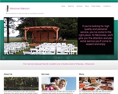Virtual Vision Computing - Wausau WI launches new Website for Memories Ballroom