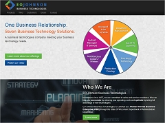 Virtual Vision Computing - Wausau WI launches new Website for EO Johnson Business Technologies