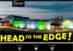 Virtual Vision Computing - Wausau WI launches Responsive Redesign for Prairies Edge Casino in Granite Falls MN