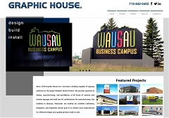 Virtual Vision Computing - Wausau WI launches new Website for Graphic House INC