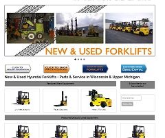 Virtual Vision Computing - Wausau WI launches new Website for Forklift Management Specialist, LLC in Marathon WI