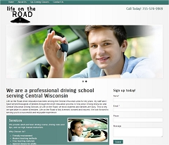 Virtual Vision Computing - Wausau WI launches new Website for Life on the Road of Bancroft WI