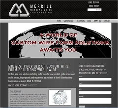 Virtual Vision Computing - Wausau WI launches new website for Merrill Manufacuring Corporation