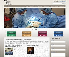 Virtual Vision Computing - Wausau WI launches new Website for Wausau Surgery Center