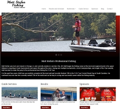 Virtual Vision Computing - Wausau WI launches new Website for Matt Stefan Fishing of Junction City WI