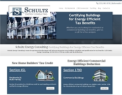 Virtual Vision Computing launches new Website for Schultz Energy Consulting in Stevens Point WI