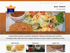 Virtual Vision Computing launches new Website for El Tequila Salsa