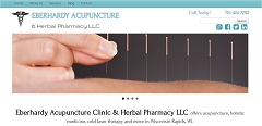 Virtual Vision Computing - Wausau WI launches new Website for Eberhardy Acupuncture in Wisconsin Rapids