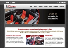 Virtual Vision Computing launches new Website for Webster's Ultimate Performance in Plover WI