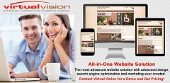 Something New! Virtual Vision's All-in-One Website Solution is a website design solution that automatically posts messages to your LinkedIn Business Page. Get Pricing follow the link.