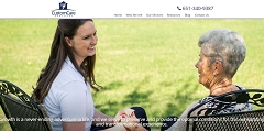 Virtual Vision launches a new website for Custom Care Partners in Eagan MN