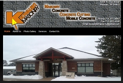 Virtual Vision Computing launches new Website for Kowalski Masonry of Wausau WI