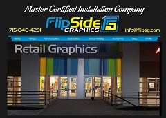 Virtual Vision Computing - Wausau WI launches new Website for FlipSide Graphics located in Wauau WI
