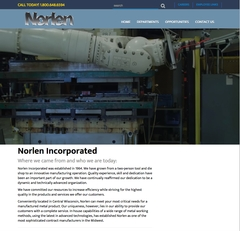 Virtual Vision recently launched a new website for Norlen Incorporated