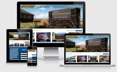 Virtual Vision recently launched a new website for Graphic House Inc.
