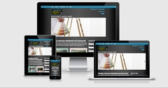 Virtual Vision recently launched a new website for Josh's Painting