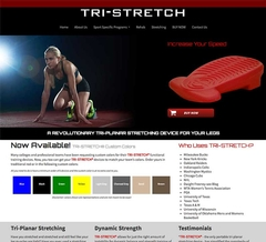 Virtual Vision Updated TRI-STRETCH with a new website & store.