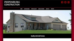 Virtual Vision recently launched a new website for Piepenburg Construction, Inc.