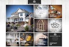 Virtual Vision recently launched a new website for Wisconsin Homes Inc