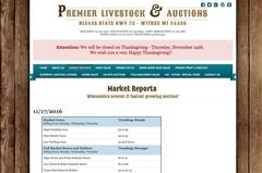 premier livestock market report Virtual Vision updated the Market Report section on Premier Livestock