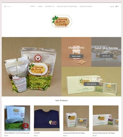 Virtual Vision Recently updated Ginseng & Herb Co-Op with a new look