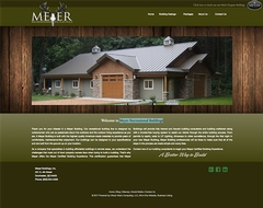 Virtual Vision recently launched a new website for Meyer Recreational Buildings