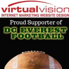 Virtual Vision is a proud supporter of DC Everest Football in 2017