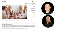 Virtual Vision re-designed the website for Copperleaf Care