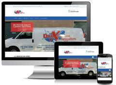 Virtual Vision recently launched a new website for Dri X Cleaning and Restoration, LLC