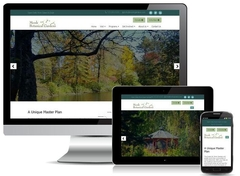 Virtual Vision recently launched a new website for Monk Botanical Gardens