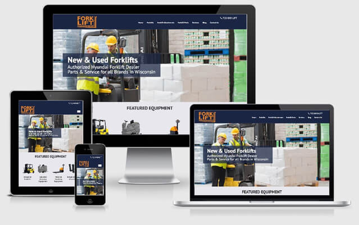 Virtual Vision recently launched a new website for Forklift Management Specialists, LLC
