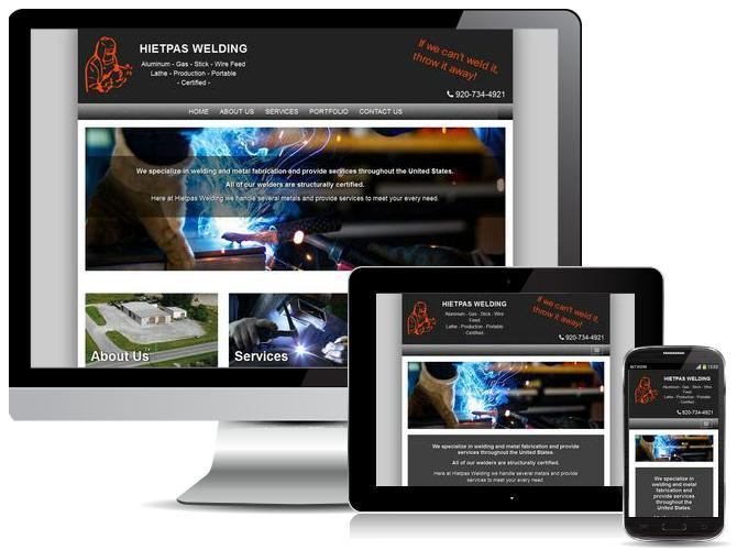 website design in Appleton, WI